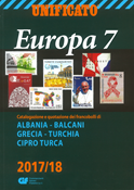 Unificato - Frimærkekatalog 2017-18 - Europa 7 - Albanien-Tyrkisk Cypern