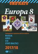 Unificato - Frimærkekatalog 2017-18 - Europa 8 - Rusland, Baltikum mm.