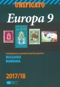 Unificato - Frimærkekatalog 2017-18 - Europa 9 - Rumænien, Bulgarien