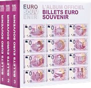 Album imprimé pour billets «Euro Souvenir», tome 1-3 os y nuevos