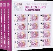 Album imprimé pour billets « Euro Souvenir », tome  1   3 des nouveaux pays* - .