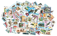 Cambodia - 400 different stamps
