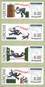 Færøerne - Frankeringsmærker 2008 - Postfrisk Frama
