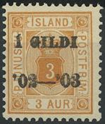 Island - AFA 10B - Postfrisk