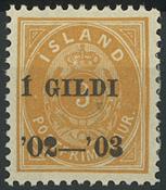Island - AFA 23B - Ubrugt