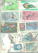 Olympics - 400 different stamps