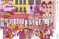 Jersey - La culture populaire des années 1970 - Bloc-feuillet neuf