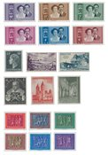 Luxembourg - Year set 1953