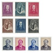 Luxembourg - Year set 1950 - Mint
