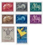 Luxembourg - Year set 1954
