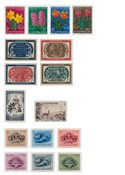 Luxembourg - Year set 1955 - Mint