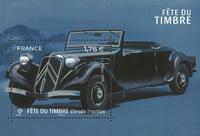 Ranska - Postimerkin päivä - Postituore blokki