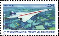 Frankrijk - Concorde - Postfrisse postzegel