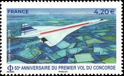 France - Concorde - Timbre neuf poste aérienne