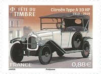France - Day of the Stamp 2019 - Mint stamp adh.