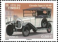 Frankrig - Frimærkets dag/Frimærkefestival - Postfrisk frimærke