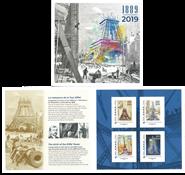 France - Tour Eiffel - Feuillet neuf en pochette