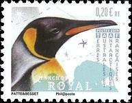Antarctique Fr. - Manchot royal - Timbre neuf
