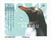 Antarctique Fr. - Manchot Papou - Timbre neuf