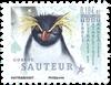 Antarctique Fr. - Gorfou sauteur - Timbre neuf