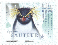 Frans Antarctica - Pinguins (1) - Postfrisse postzegel