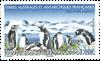 Antarctique Fr. - Manchots 2019 - Timbre neuf