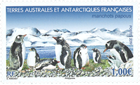 French Antarctic - Penguins - Mint stamp