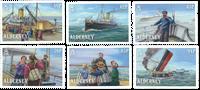 Alderney - SS Stella - Postfrisk sæt 6v