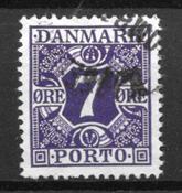 Danmark  - Po. 21 - stemplet