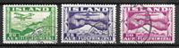 Island  - AFA 176-178 - stemplet