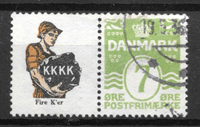 Dinamarca  - Rekl. 31 - Usado