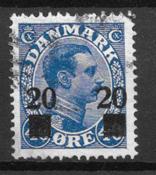 Danemark - AFA 153 - oblitéré