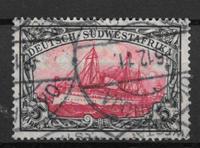 Colonies allemandes 1906 - AFA 34 - oblitéré