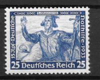 Empire allemand 1933 - AFA 501 - neufs