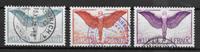 Schweiz 1924 - AFA 203-205 - stemplet