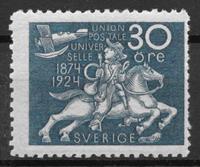 Sverige 1924 - AFA 179a - ustemplet