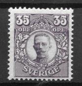 Sverige 1911 - AFA 74 - postfrisk