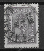Norge 1867 - AFA 13a - stemplet