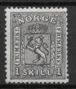 Norge 1867 - AFA 11 - ustemplet