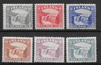 Island 1931 - AFA 150-155 - postfrisk