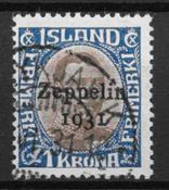 Island 1931 - AFA 148 - stemplet