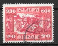 Island 1930 - AFA 130 - stemplet