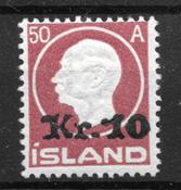 Island 1926 - AFA 119 - postfrisk