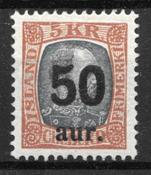 Island 1925 - AFA 113 - postfrisk