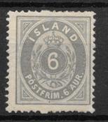 Islanti 1875 - AFA 7 - Käyttämätön