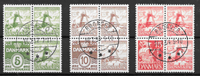 Danemark 1937 - AFA 236-238 - oblitéré