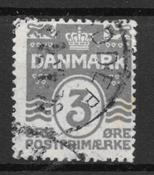 Danemark 1919 - AFA 79a - oblitéré