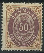 Danemark -  AFA 30 neuf avec ch.