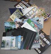 Danemark - Lot de collections annuelles