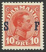 Danmark 1917 - Soldaterfrimærke - AFA 2 - Postfrisk